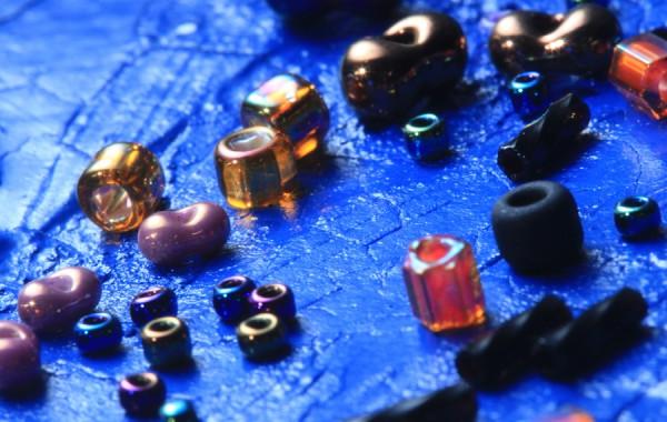 Glass Beads Sea