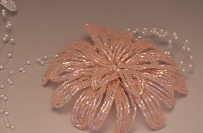 Beads Brooch